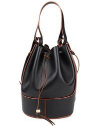 Loewe Large Balloon Bucket Bag - Black