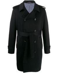 Circolo 1901 Double Breasted Coat - Blue
