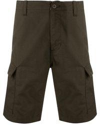 Carhartt WIP Logo Cargo Shorts - Green