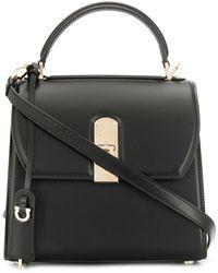 Ferragamo Boxyz Small Tote Bag - Black