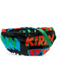Kirin Colour Block Belt Bag - Black