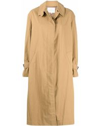 Studio Nicholson Holin Single-breasted Coat - Natural
