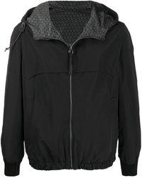 Ferragamo Reversible Hooded Jacket - Black