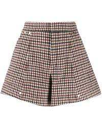 Chloé A-line Shorts - Red