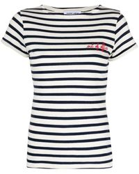 Maison Labiche Striped T-shirt - Blue