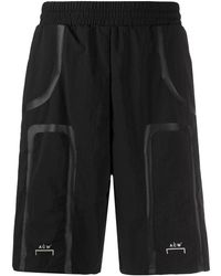 A_COLD_WALL* Bracket Taped Shorts - Black