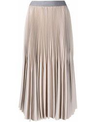 Fabiana Filippi High-waisted Fully-pleated Skirt - Multicolour