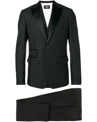 DSquared² Formal Three Piece Suit - Black