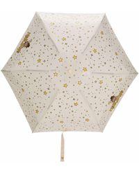 Moschino Teddy Bear Star-print Umbrella - Multicolor