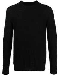 Roberto Collina Long-sleeve Knitted Jumper - Black