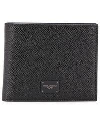 Dolce & Gabbana - Black Dauphine Wallet - Lyst