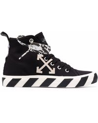 Off-White c/o Virgil Abloh Vulcanized Mid-top Trainers - Black