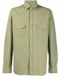 Tintoria Mattei 954 - Textured Two-pocket Shirt - Lyst