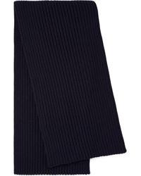 Prada Wool Scarf - Blue