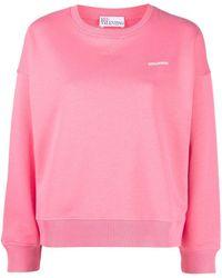 RED Valentino Ruffle-trim Sweatshirt - Pink
