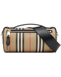 Burberry The Vintage Check Barrel Bag - Multicolour