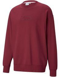 PUMA X Maison Kitsuné Sweatshirt - Red