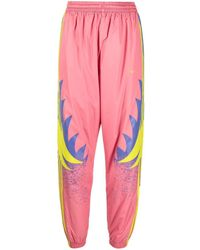 adidas Graphic Print Track Pants - Pink