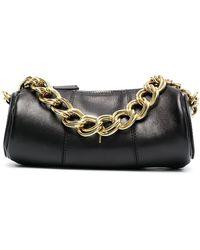 MANU Atelier Cylinder Leather Bag - Black