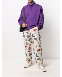 RIPNDIP Monarch Butterfly-print Track Trousers - Multicolour