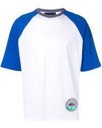 Prada Loose-fit Patch T-shirt - White