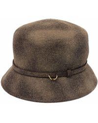 Catarzi Wool Bucket Hat - Brown