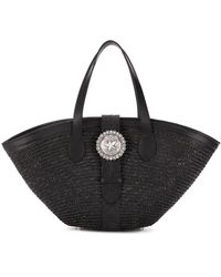 KATE CATE Beach Tote - Black