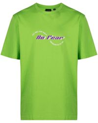 Daily Paper No Fear Oversized T-shirt - Green