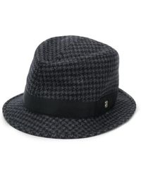 f373039da Gucci Wool Men's Houndstooth Baseball Cap With Ny Yankees Applique ...