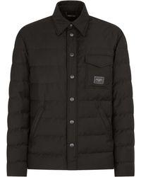 Dolce & Gabbana Coats Black