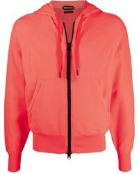 Tom Ford Zip-up Hoodie - Orange