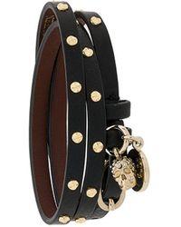 Alexander McQueen - Double-wrap Studded Bracelet - Lyst