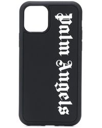 Palm Angels Logo-print Iphone 11 Pro Case - Black