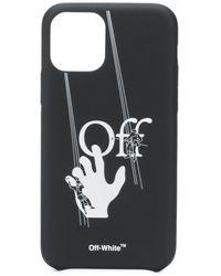 Off-White c/o Virgil Abloh Hand-off Iphone 11 Pro Case - Black