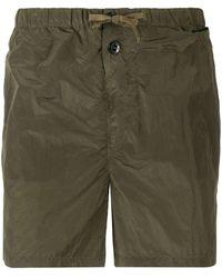 Stone Island Drawstring Waist Shorts - Green