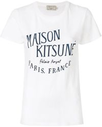 Maison Kitsuné Palais Royal T-shirt - White