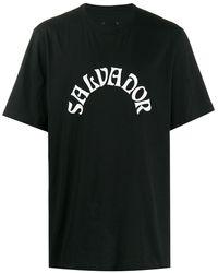 OAMC Short Sleeve Logo Print T-shirt - Black
