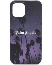 Palm Angels Palms Boulevard Iphone 12 Pro Max Case - Black