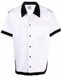PUMA Two-tone Short-sleeved Shirt - White
