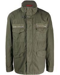 Paul & Shark Military Cargo Jacket - Green