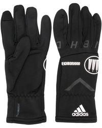 adidas X Neighborhood Logo Detail Gloves - Black