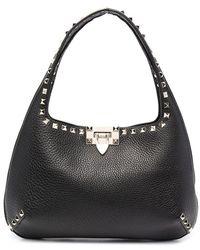 Valentino Garavani - Small Rockstud Shoulder Bag - Lyst