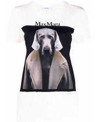 Max Mara T-shirts And Polos Grey