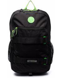 PUMA Logo-patch Pocket-front Backpack - Black