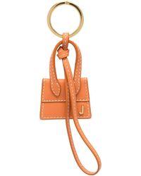 Jacquemus Bag-charm Keyring - Orange
