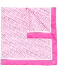 Magda Butrym Monogram-print Scarf - Pink