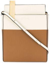 ROKH Camel Shoulder Bag - Brown