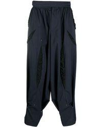 Kiko Kostadinov Loose-fit Cotton Pants - Blue