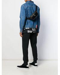 Versace Medusa Plaque Belt Bag - Black
