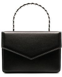 AMINA MUADDI Pernille Super Mini Bag - Black